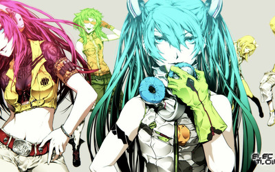 Vocaloid [3] wallpaper