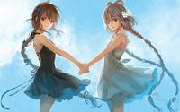 Vocaloid girls dancing wallpaper 1920x1200 jpg