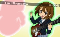 Yui Hirasawa - K-On! [4] wallpaper 1920x1200 jpg