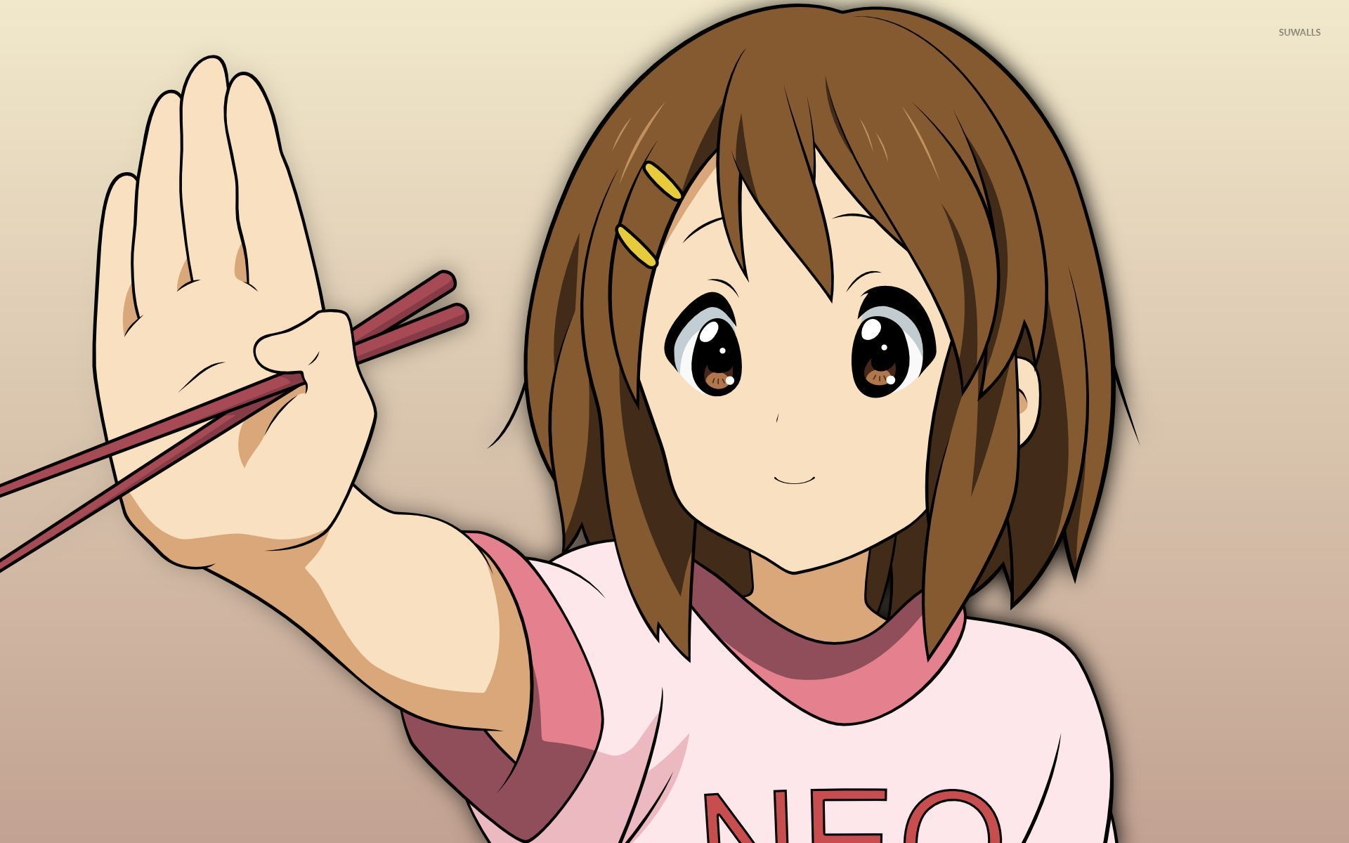 Yui Hirasawa K On Wallpaper Anime Wallpapers 8932
