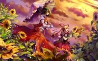 Yukari Yakumo - Touhou Project wallpaper 2560x1600 jpg