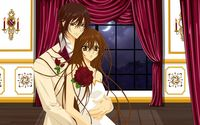 Yuki and Kaname - Vampire Knight wallpaper 1920x1200 jpg