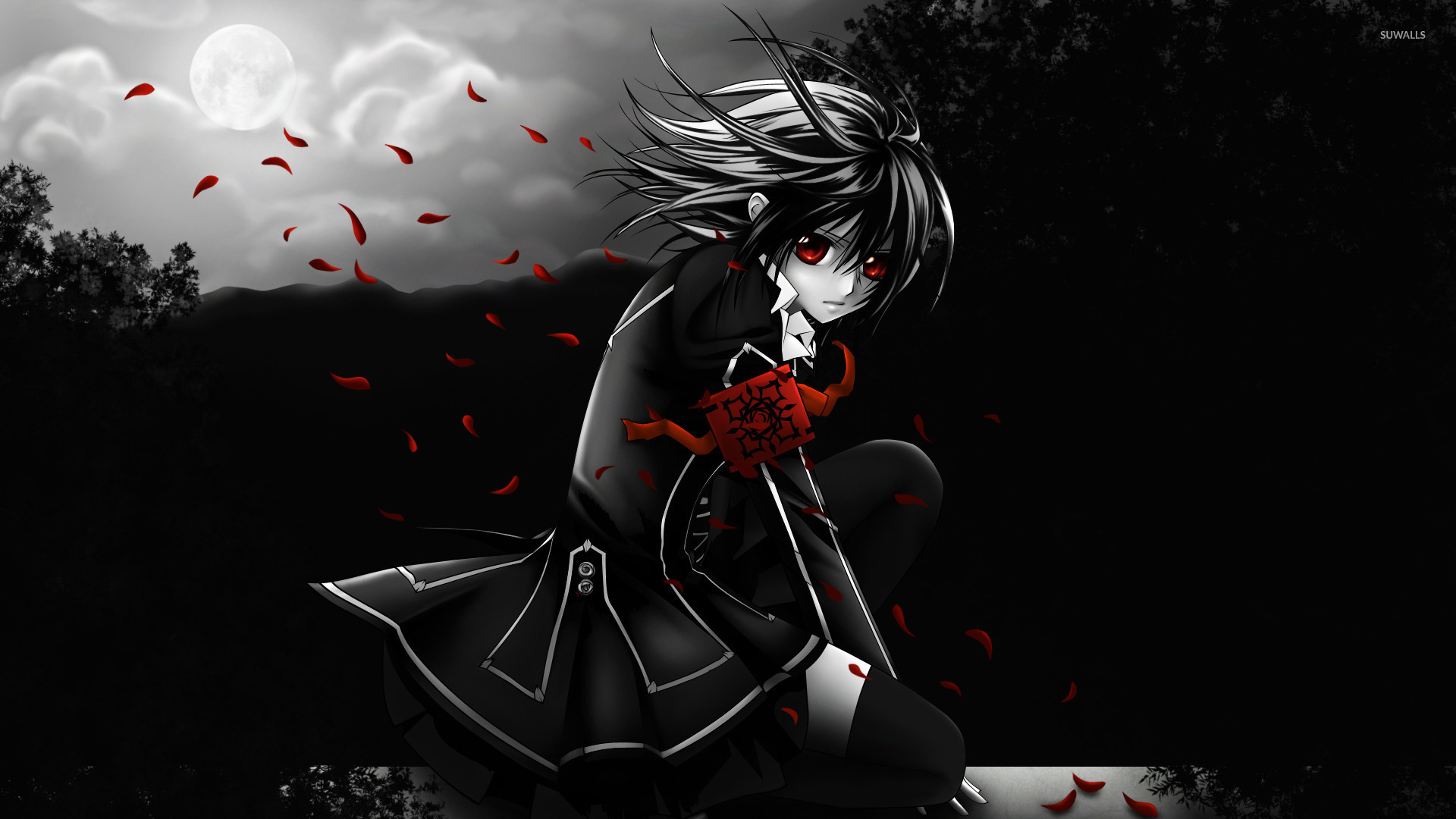 yuki kuran - vampire knight [4] wallpaper - anime wallpapers - #15972