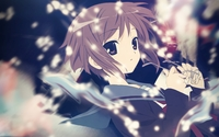 Yuki Nagato - The Melancholy of Haruhi Suzumiya [2] wallpaper 1920x1200 jpg