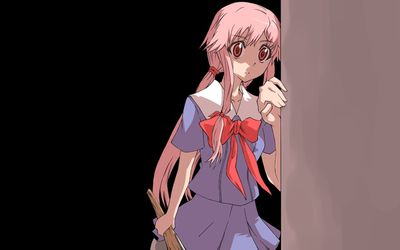 Yuno Gasai - Future Diary [12] wallpaper