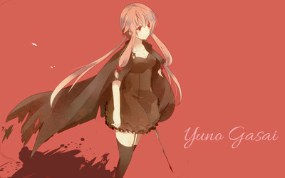 Yuno Gasai - Future Diary [4] wallpaper