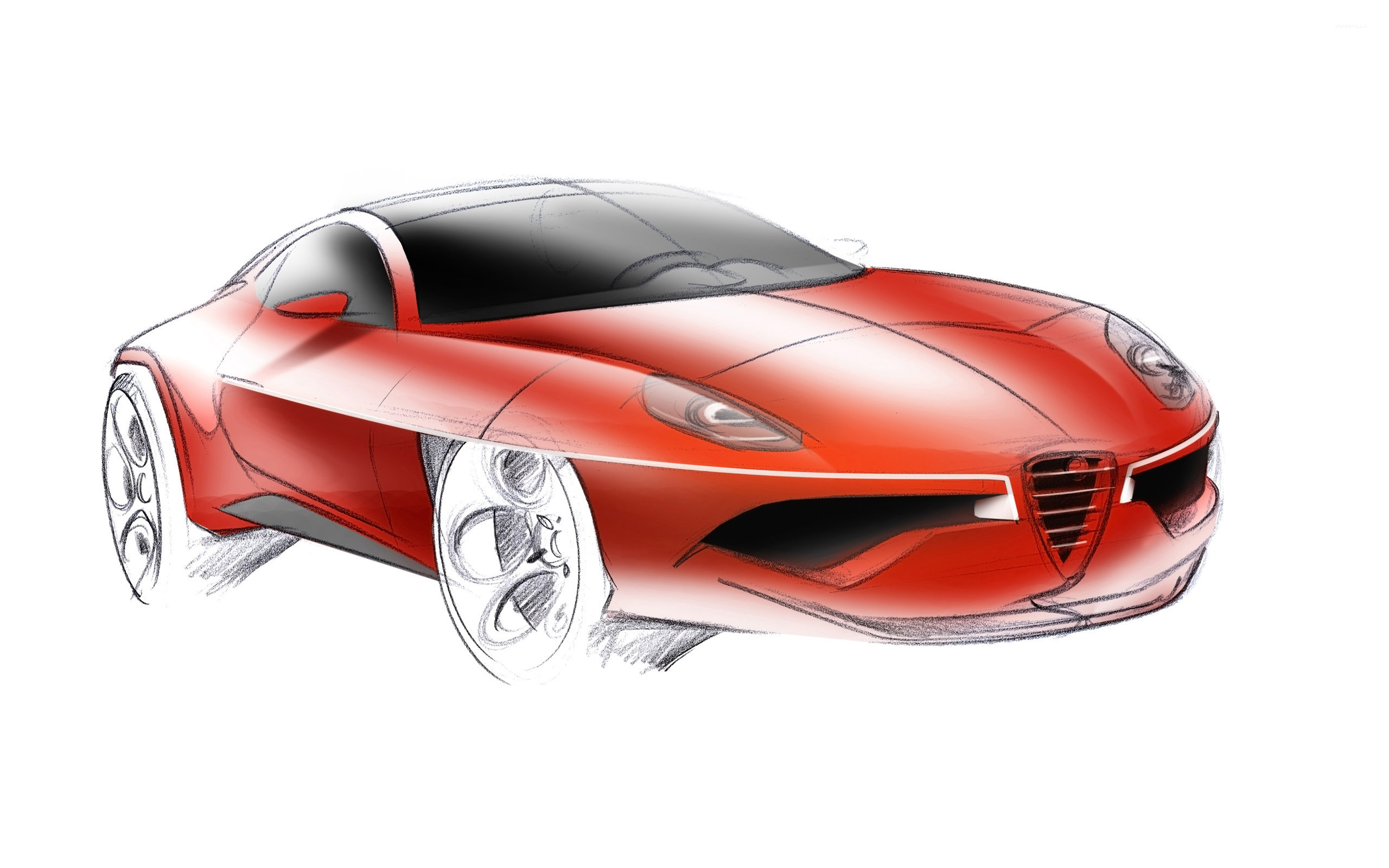 Superieur 2012 Alfa Romeo Disco Volante [2] Wallpaper