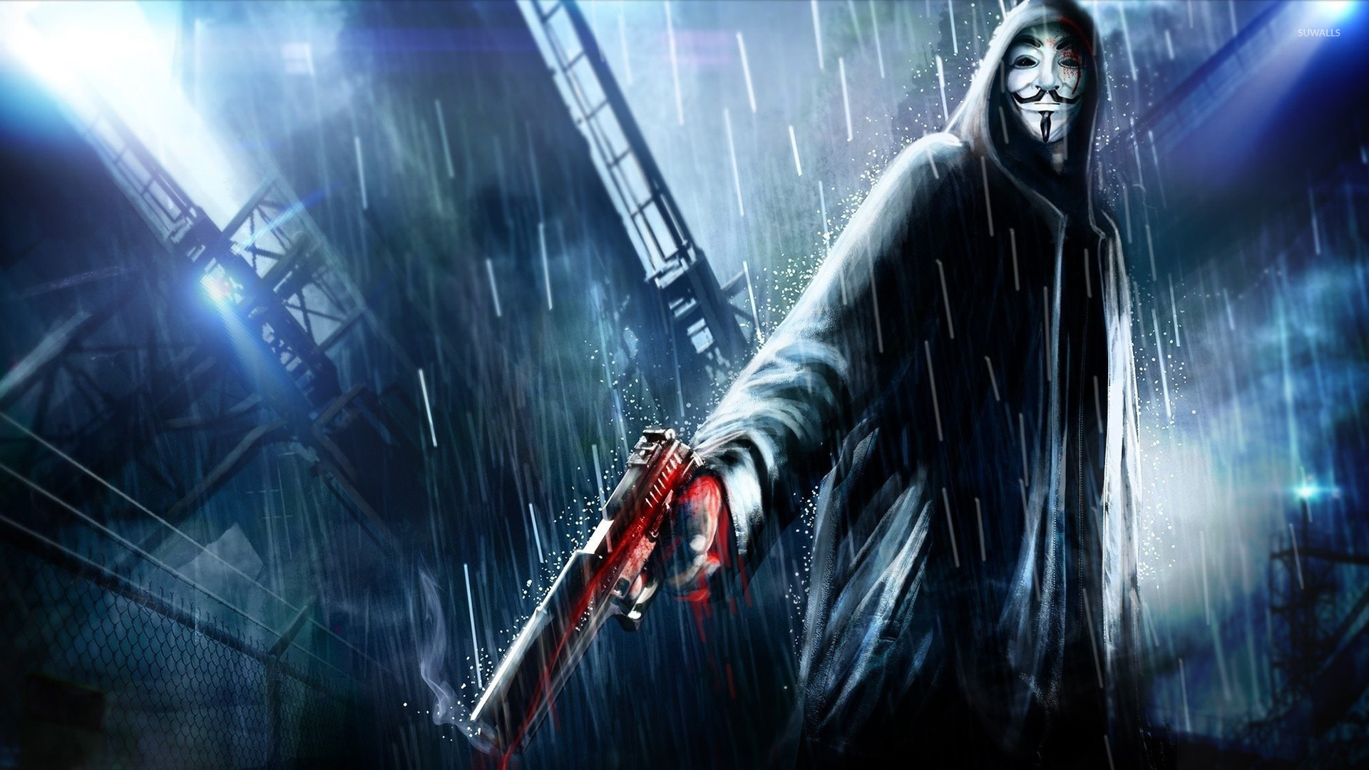 Anonymous 2 Wallpaper 1920x1080 Jpg