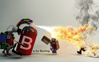 B is for burning wallpaper 1920x1080 jpg
