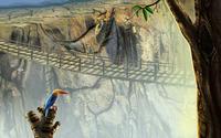 Bird overlooking the bridge wallpaper 1920x1200 jpg