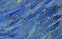 Blue paint strokes [2] wallpaper 2880x1800 jpg