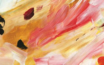 Bright paint strokes wallpaper