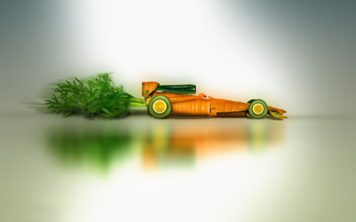 Carrot car wallpaper