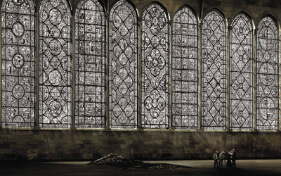 Cathedral Windows wallpaper