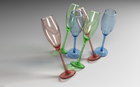 Champagne glasses wallpaper 1920x1200 jpg