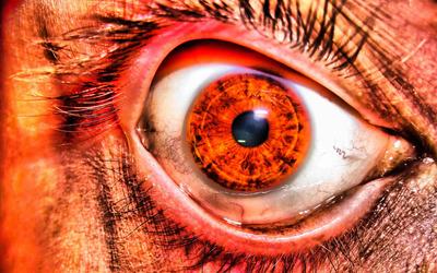 Creepy eye wallpaper