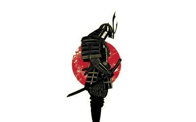 Empty Samurai Suit wallpaper