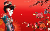 Geisha wallpaper 1920x1200 jpg