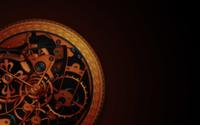 Golden watch mechanism wallpaper 1920x1200 jpg