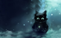 Googly eyed cat [2] wallpaper 1920x1200 jpg