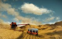 Harvesting wallpaper 2560x1440 jpg