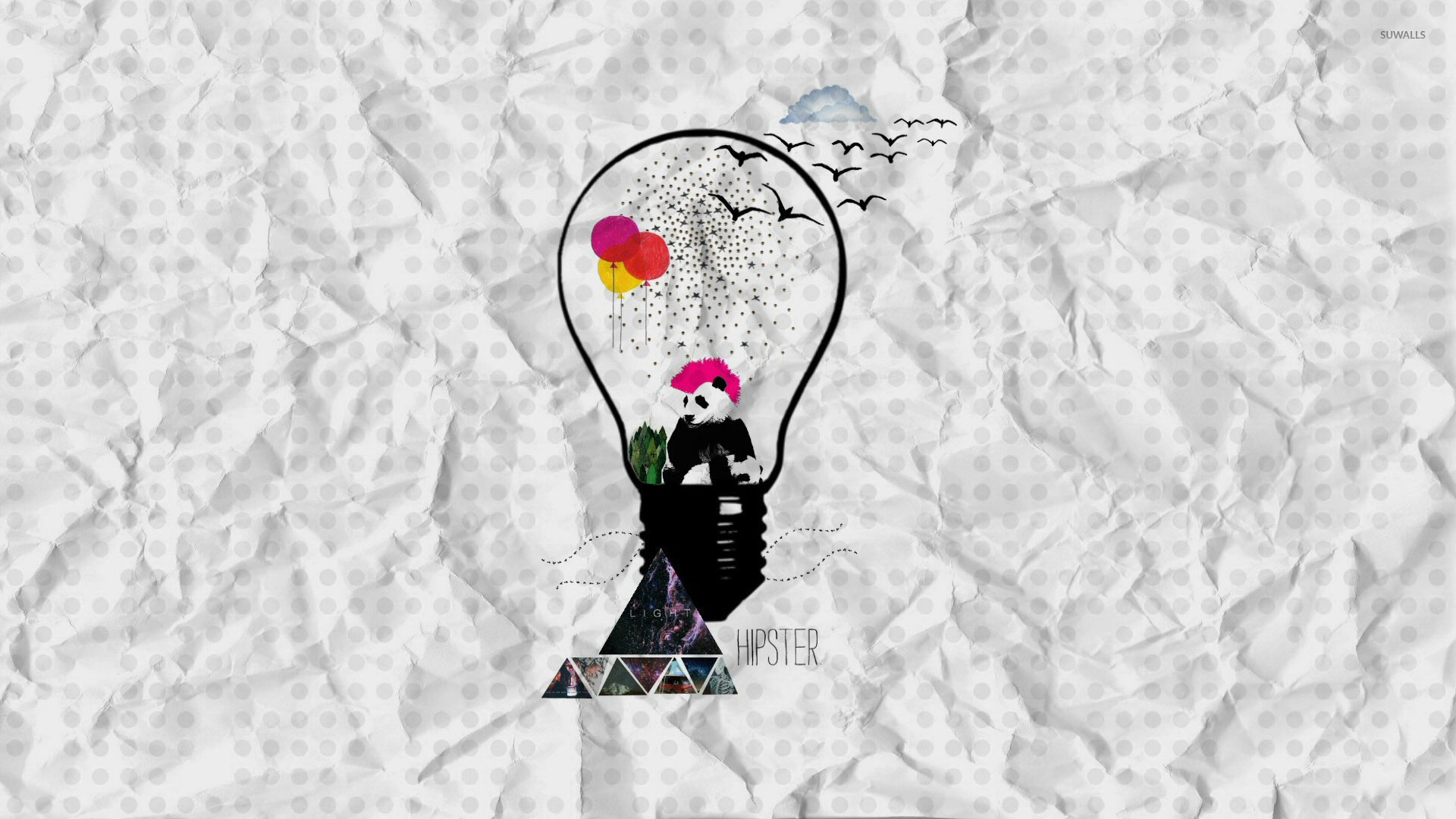 Hipster art wallpaper - Artistic wallpapers - #29287