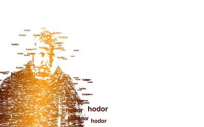 Hodor - Game of Thrones wallpaper