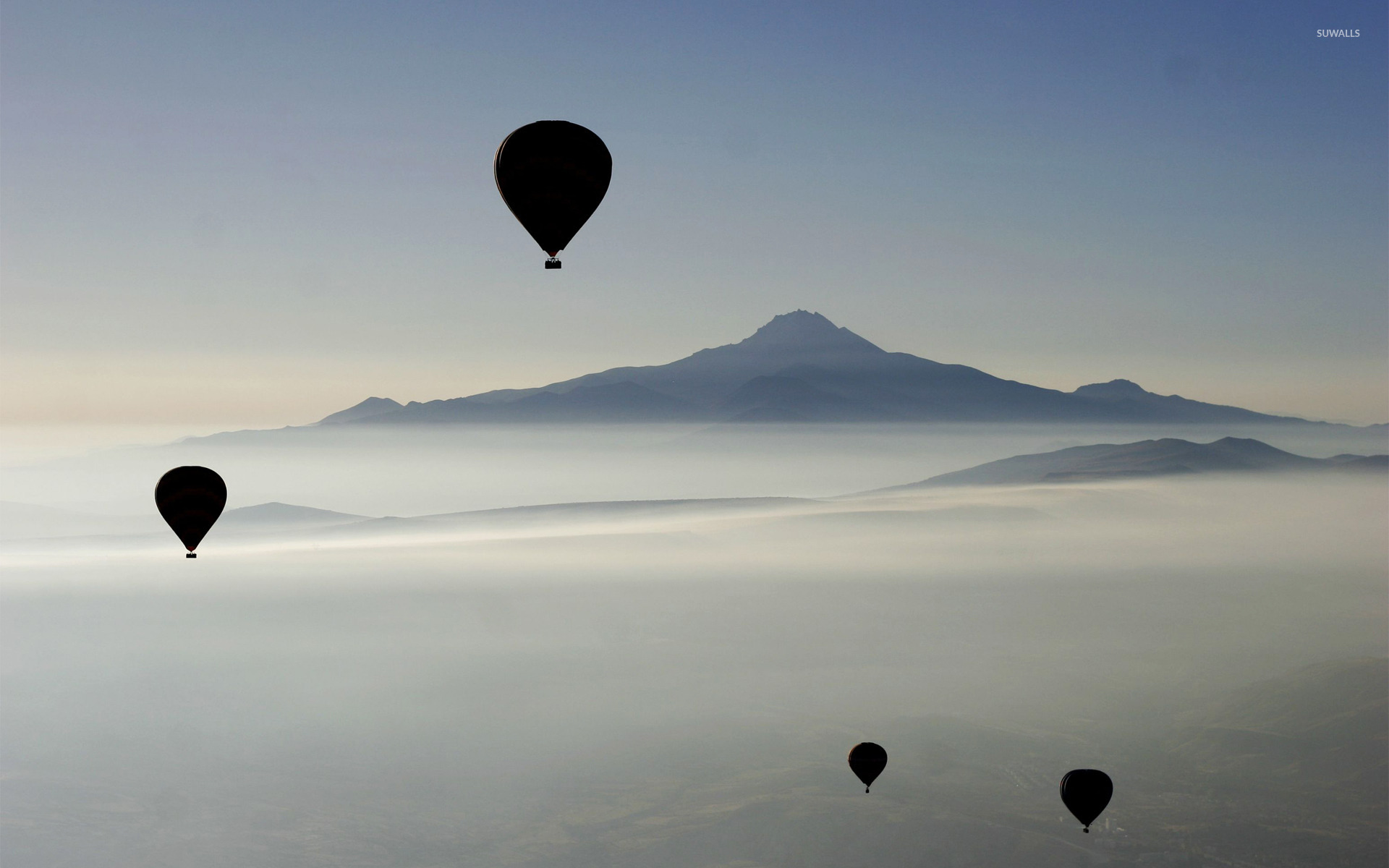Hot Air balloons in the sky wallpaper - Artistic ...