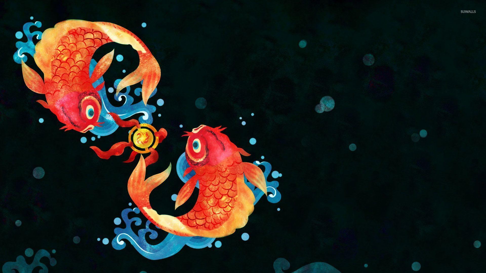 koi fish 2 wallpaper artistic wallpapers 28951