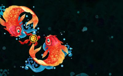 Koi fish [2] wallpaper