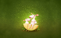 Mouse Christmas wallpaper 1920x1200 jpg