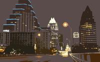 Night in the city wallpaper 1920x1200 jpg