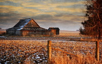 Old barn wallpaper 2560x1600 jpg