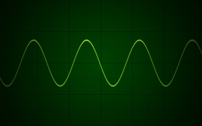 Oscilloscope wallpaper