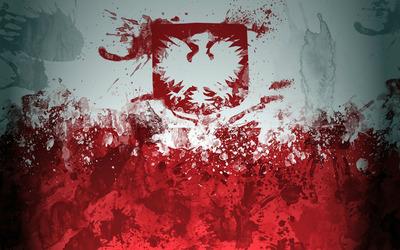 Poland Grunge wallpaper