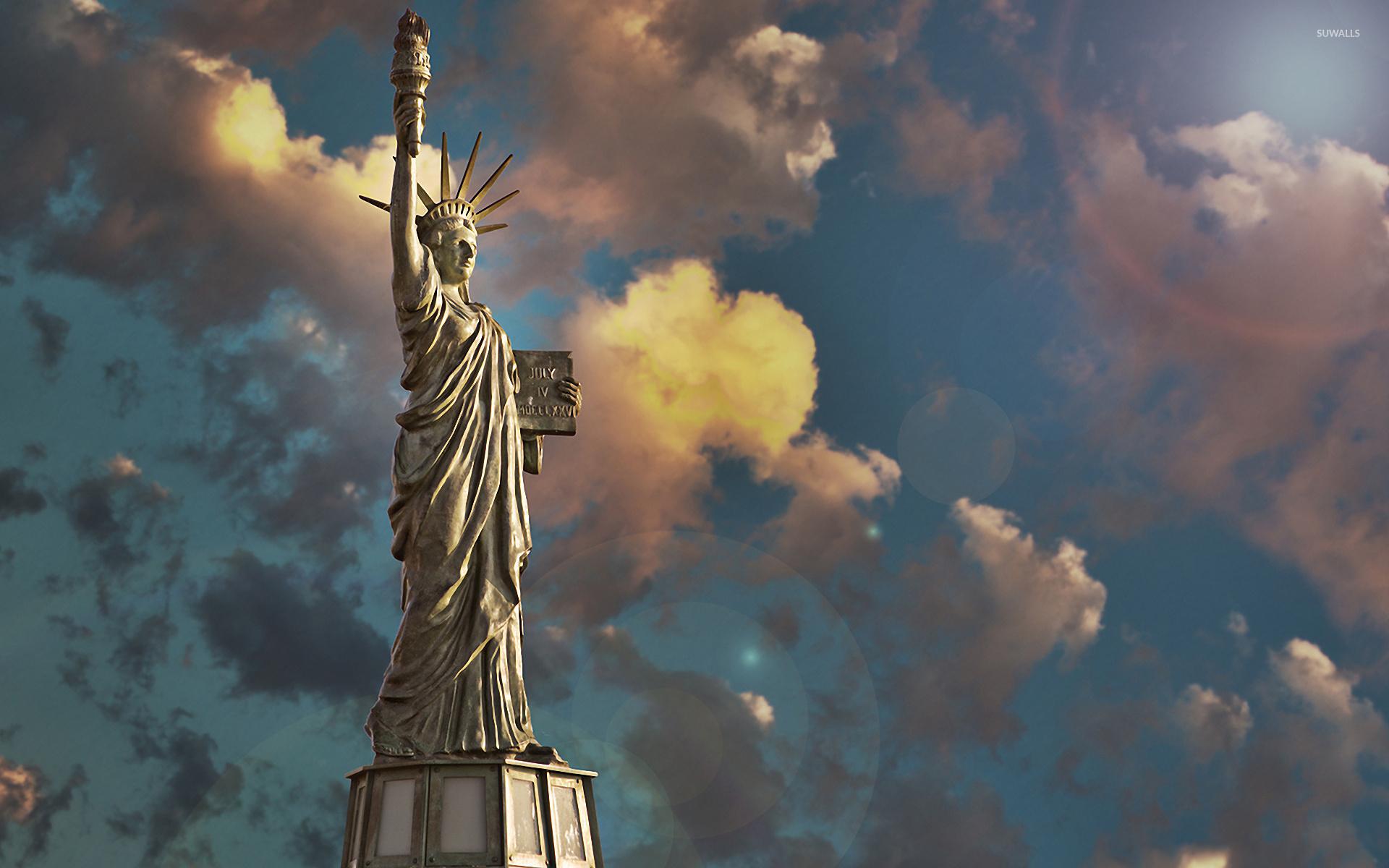 Statue Of Liberty 3 Wallpaper