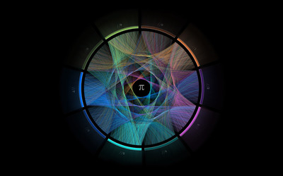 The beauty of Pi wallpaper