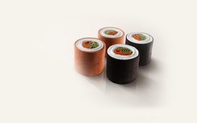 Towel sushi wallpaper