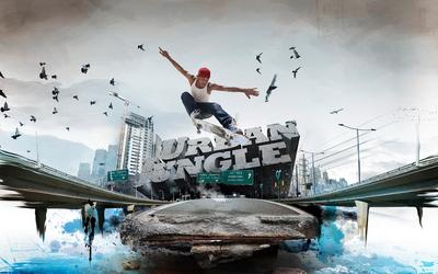 Urban dancer wallpaper