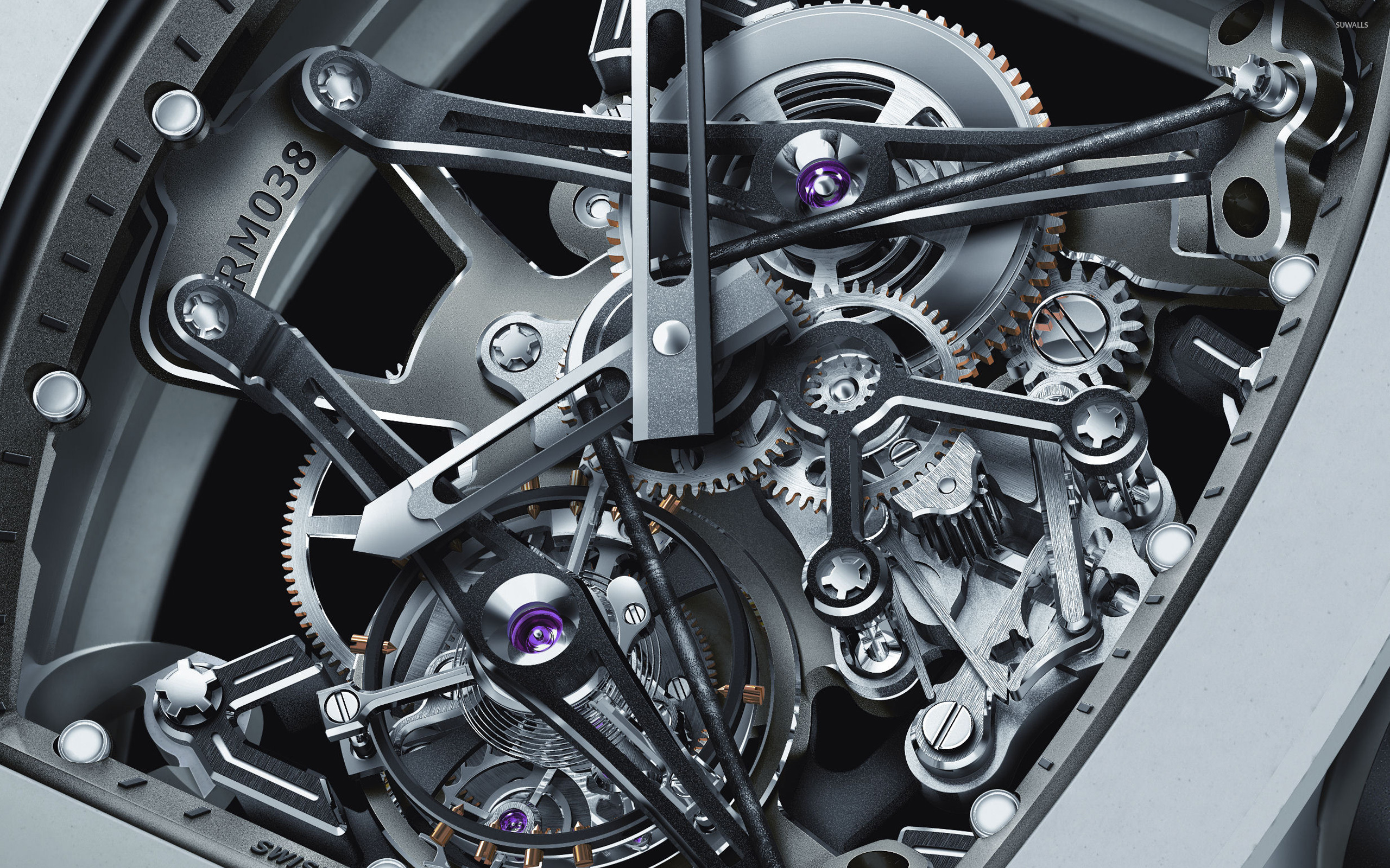 Watch mechanism wallpaper - Artistic wallpapers - #8800