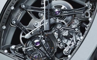 Watch mechanism wallpaper