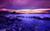 Amazing purple sunset wallpaper 2560x1600 jpg