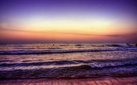 Amazing sunset at the beach [2] wallpaper 1920x1200 jpg