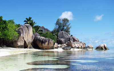 Anse Source d'Argent wallpaper