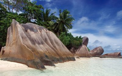Anse Source d'Argent beach wallpaper