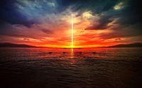 Apocalyptic sunset wallpaper 1920x1080 jpg