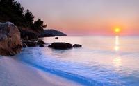Bay sunset wallpaper 2560x1600 jpg