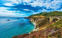 Bixby Creek Bridge in Big Sur wallpaper 1920x1080 jpg