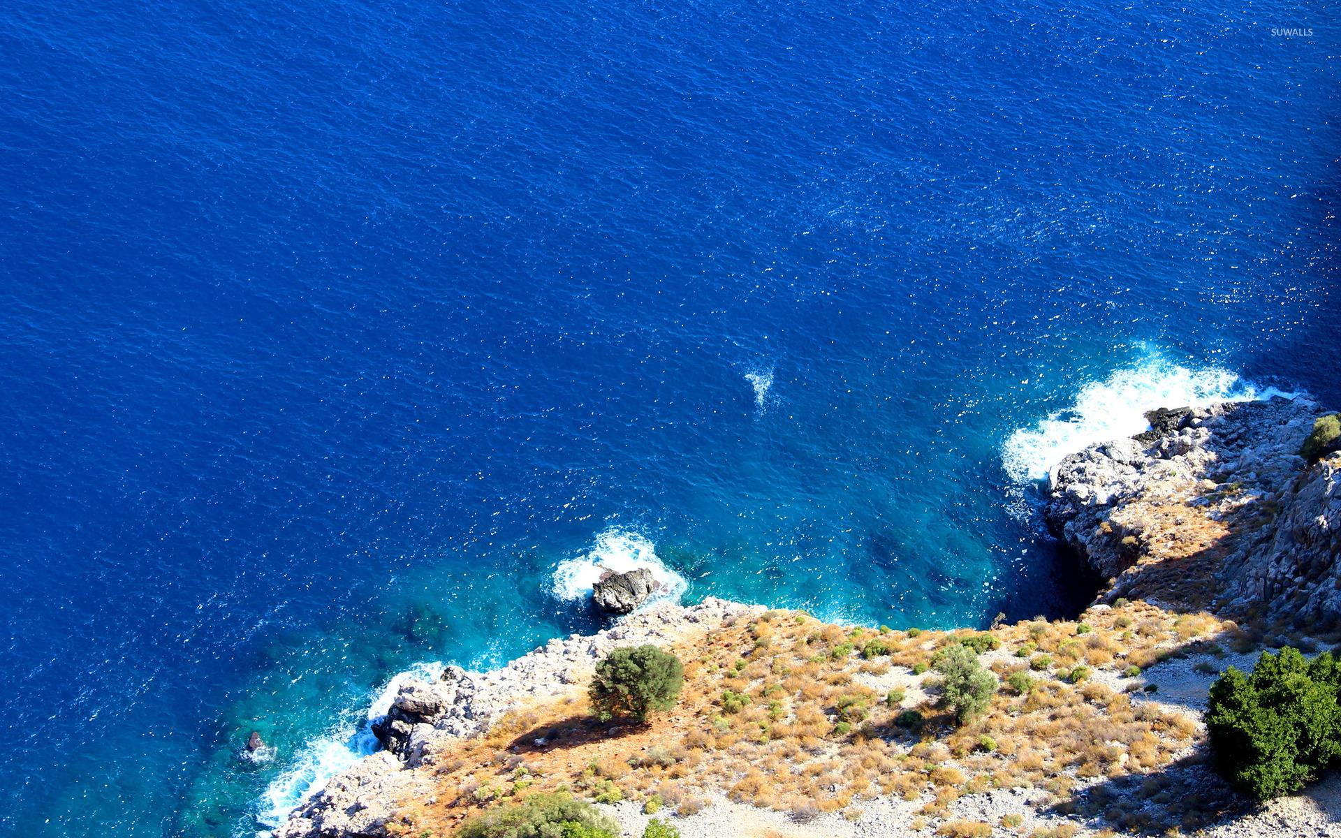 Wave Dark Ocean Sea Blue Pattern #iPhone #5s #wallpaper | iPhone ...