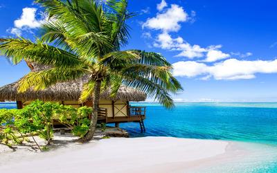 Bora Bora Resort wallpaper